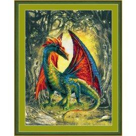 RIOLIS Riolis Cross Stitch Kit 0057  Forest Dragon