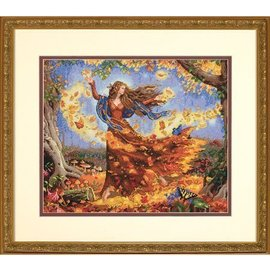 Dimensions Gold Collection Cross Stitch Fall Fairy 70-35262
