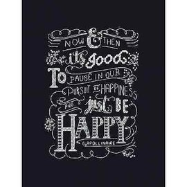 Design Works Just Be Happy Counted Cross Stitch Kit 2886
