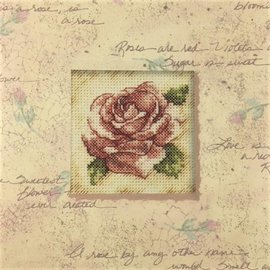 Daydreams Rose Romance Counted Cross Stitch