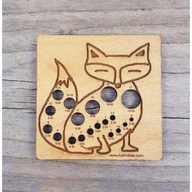 Animal Needle Gauge - Fox