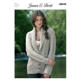 James C Brett Pattern Leaflet JB046