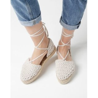 Crocheted Espadrilles Class Tuesday July 17th & 31st  7-9pm (two part class)