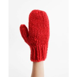 Pattern WOOL AND THE GANG Fight The Power Mittens