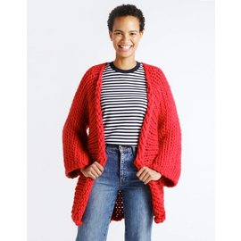 Pattern WOOL AND THE GANG Fearless Cardigan