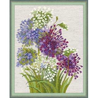 RIOLIS Riolis Cross Stitch Kit - 1484 Allium
