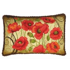 RIOLIS Riolis Cross Stitch Kit - 1433 Oriental Motifs Cushion