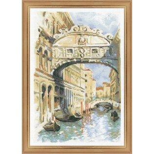 RIOLIS Riolis Cross Stitch Kit - 1552 Venice, Bridge of Sighs