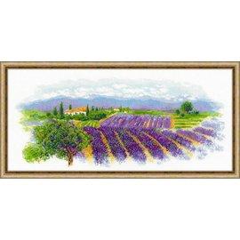RIOLIS Riolis Cross Stitch Kit - 1690 Blooming Provence