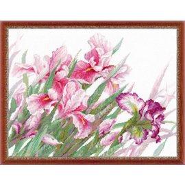 RIOLIS Riolis Cross Stitch Kit - 100/024 Irises