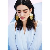 Monica Sordo Anuket Maxi Earrings