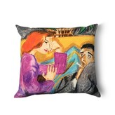 Tata Naka Relationship Prints Cushions