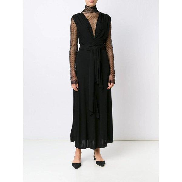 Tome Jersey Sleeveless Draped Criss-Cross Dress
