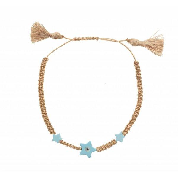 Ileana Makri Summer Cord Bracelet in Brown