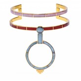 Monica Sordo Yma Choker Necklace in Red and Pink