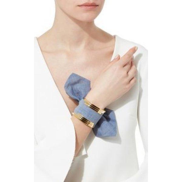 Monica Sordo The Bandita Cuff Bracelet in Denim