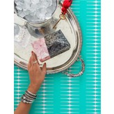 Nathalie Trad Tilda Clutch in Penshell and Rose Hammer Shell