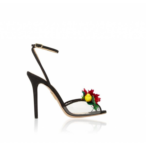 Charlotte Olympia Tropicana Open Toe Sandal with Fruit Cluster