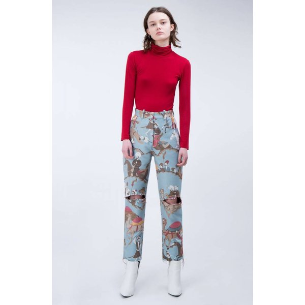 Taller Marmo Fifi Ripped Jeans in Ottoman Blue