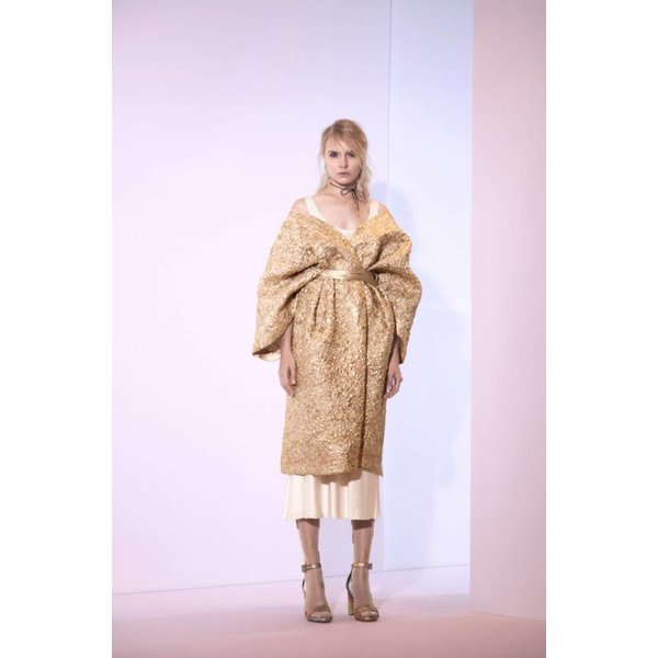 Sandra Mansour Rayon du Soleil Couchant Brocade Jacket