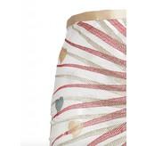 Sandra Mansour La Mer se tord et se roule Lace Embroidered Midi Skirt
