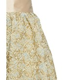 Sandra Mansour La Mer Calme et Lisse Brocade Midi Skirt