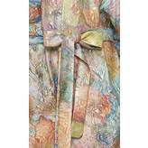 Sandra Mansour Soleil Etranglant Brocade Long Jacket