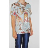 Taller Marmo Alice Top in Blue