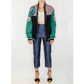 "Roberta Einer ""Triple Tweed"" Bomber Jacket"