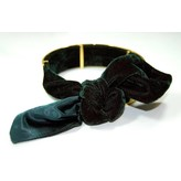 Monica Sordo The Bandita Cuff Choker in Velvet