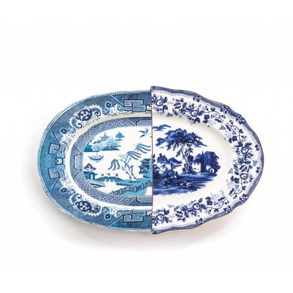 Seletti Hybrid Diomira Tray in Porcelain