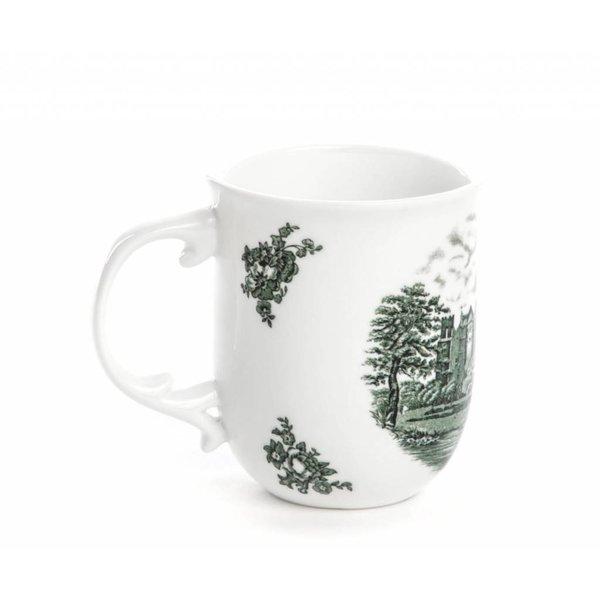 Seletti Hybrid Fedora Mug in Porcelain