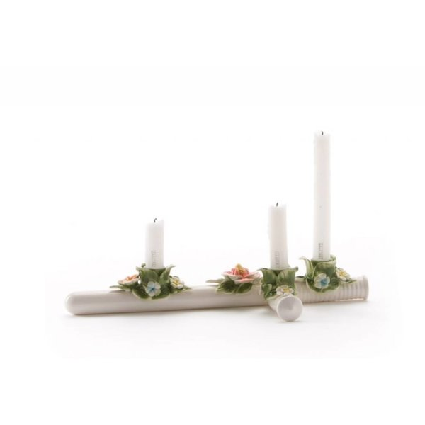 "Seletti The Spontoon Ceramic Candle Holder ""Flower Attitude"""