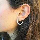 """Yvonne Leon """"Escargot"""" Pearls Earring in 18kt Yellow Gold"""