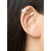 "Yvonne Leon ""Maxi Clip"" Diamond Ear Cuff in 18kt White Gold"