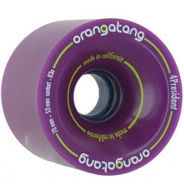 Orangatang Orangatang- 4 President- 70mm- 83a- Purple- Wheel
