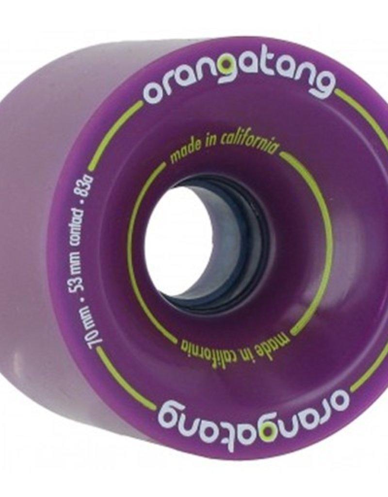 Orangatang Orangatang- 4 President- 70mm- 83a- Purple- Wheel