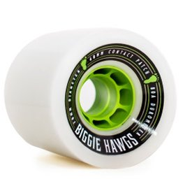 Landyachtz Landyachtz- Biggie Hawgs- 70mm- 80a- White- Wheels