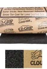 DB Longboards Cloud Ride- EZ-Grip- Fine- 80 Grit- Black- Grip Tape- 11 inch- 11 inch- Roll- Sold by the Foot
