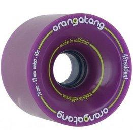 Orangatang Orangatang- BLEM- 4 President- 70mm- 83a- Purple- BLEM- Wheel