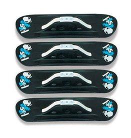 Fuse- 4x4- Skate Ski- Skateboard Ski Kit- Black