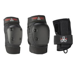 Triple Eight Triple 8- Little Tricky- Dual Certified- EPS Liner- Black Rubber- Youth- Helmet