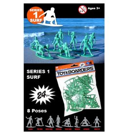 Toy Boarders Toy Boarders- Skate Figures- Toy- Series 2- 24 pieces