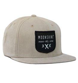 Moonshine Moonshine- Moonshine Shield- Tan- Hat