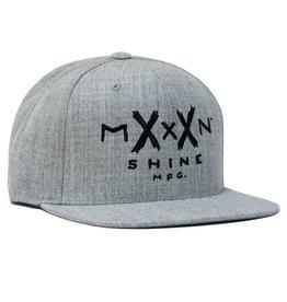 Moonshine Moonshine- Moonshine Logo- Heather Grey- Hat