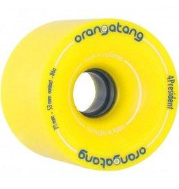 Orangatang Orangatang- BLEM- 4 President- 70mm- 86a- Yellow- BLEM- Wheel