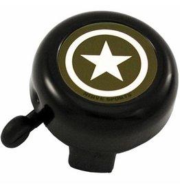 Nirve- Kilroy Star Bell- Black- 56mm