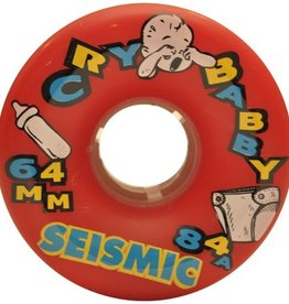 Seismic Seismic- Cry Baby- 64mm- 84a- Red- Wheel