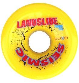 Seismic Seismic- Landslide- 70mm- 79a- Yellow- Wheels