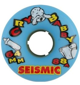 Seismic Seismic- Cry Baby- 64mm- 88a- Blue- Wheel